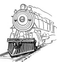 old train image from Wikimedia Commons